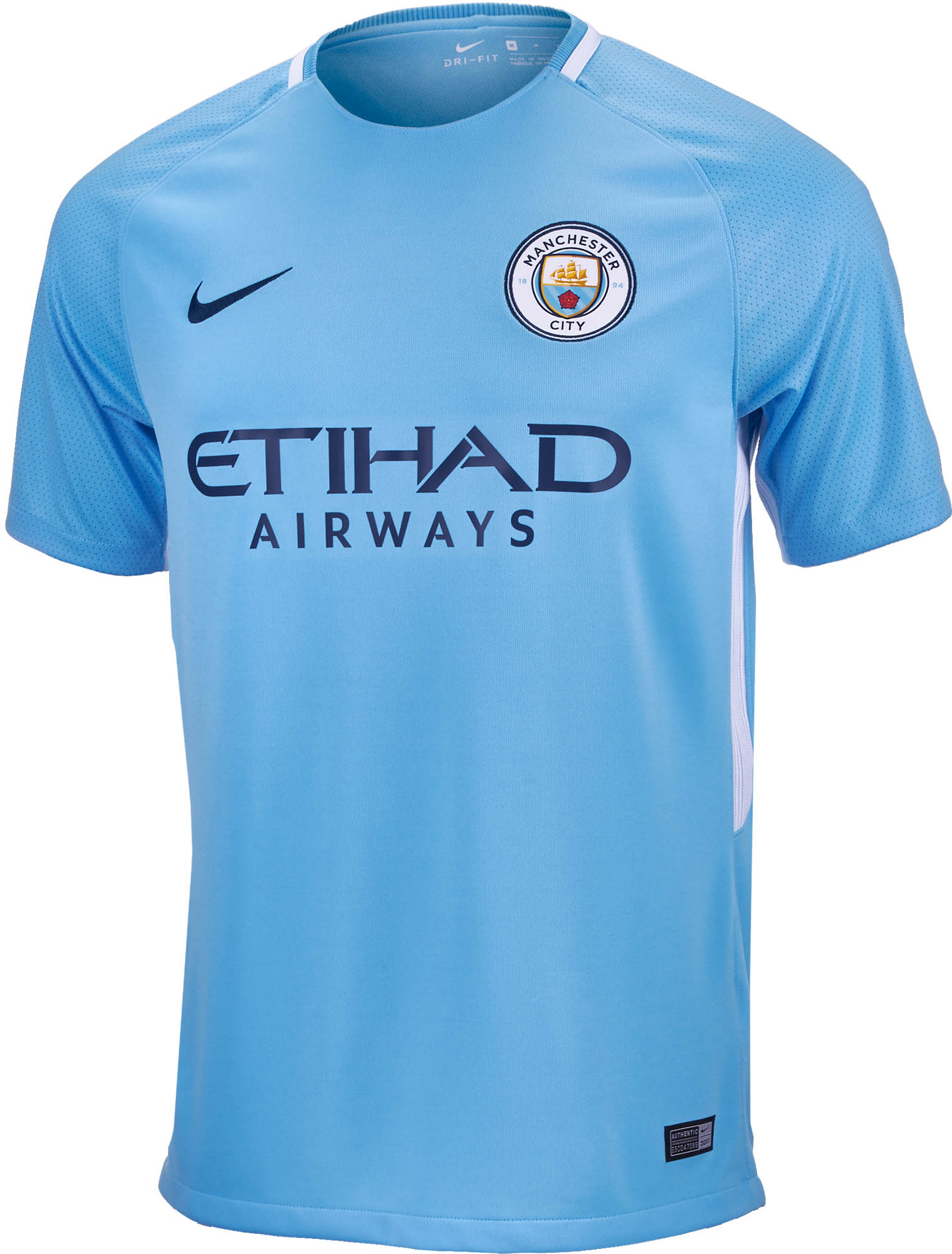Nike Manchester City Home Jersey 2017-18 NS - Soccer Master 9529dc8b0