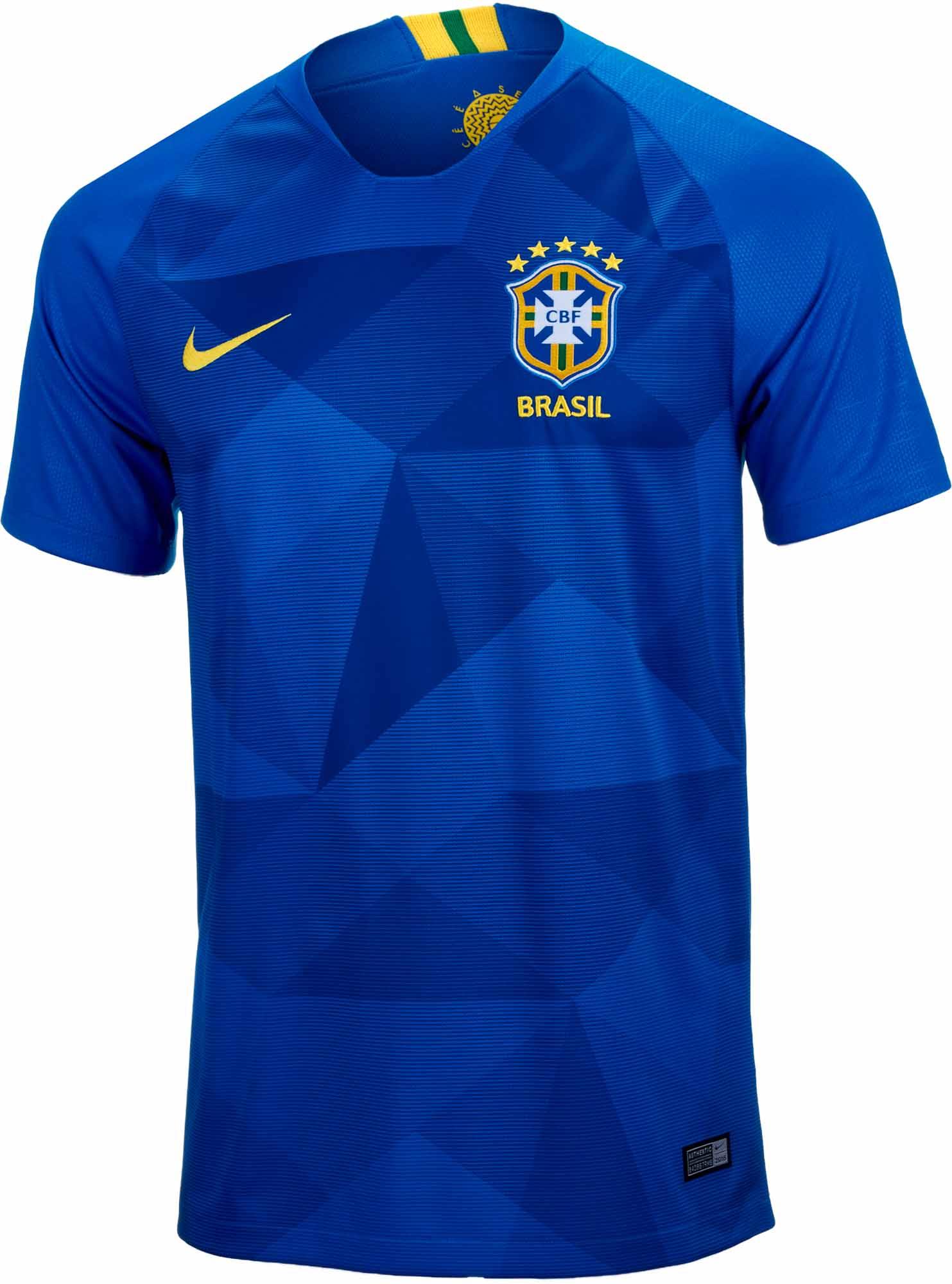 Nike Brazil Away Jersey 2018 19 Ns Soccer Master