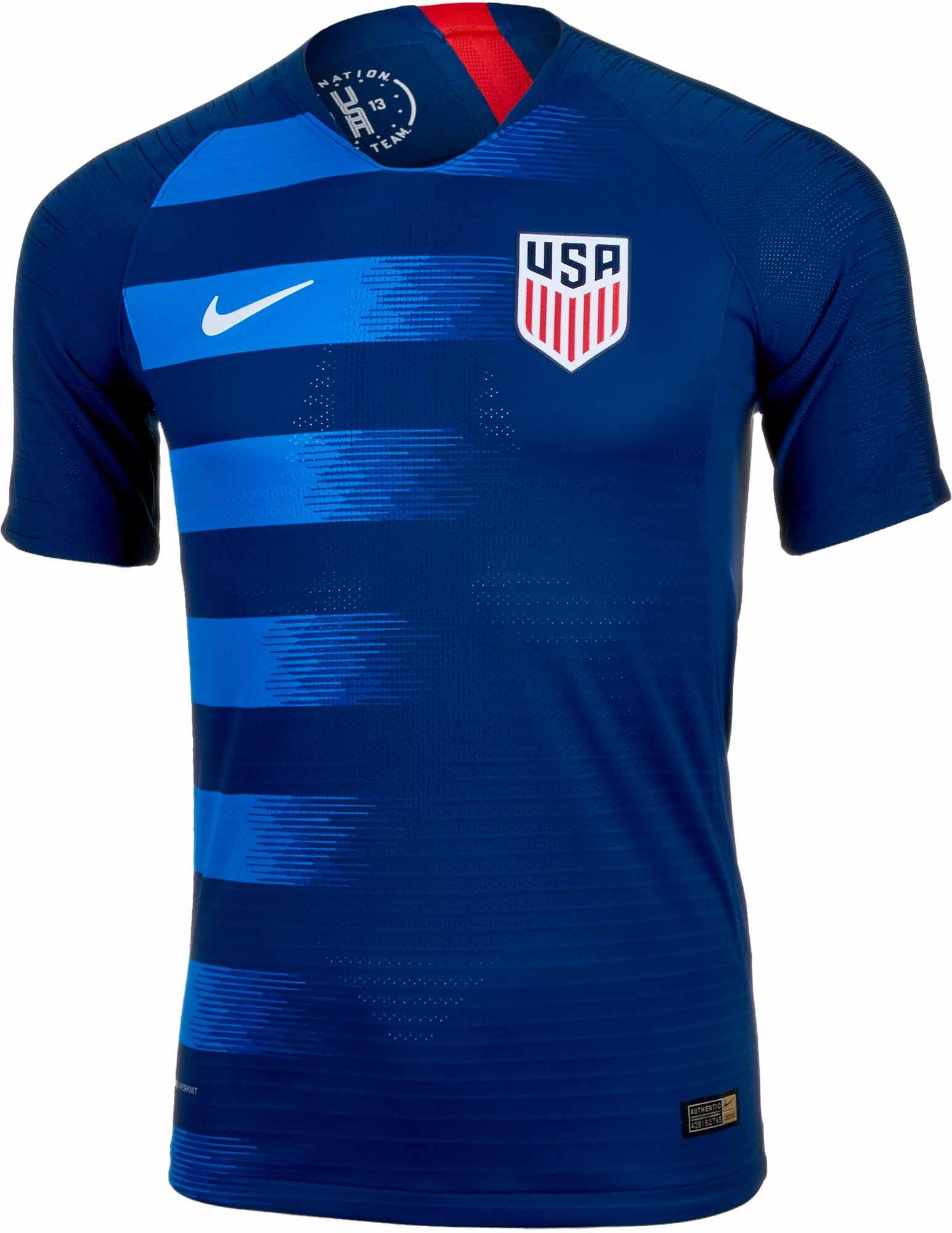 d22dae7c46d 2018 19 Nike USA Away Match Jersey - Soccer Master