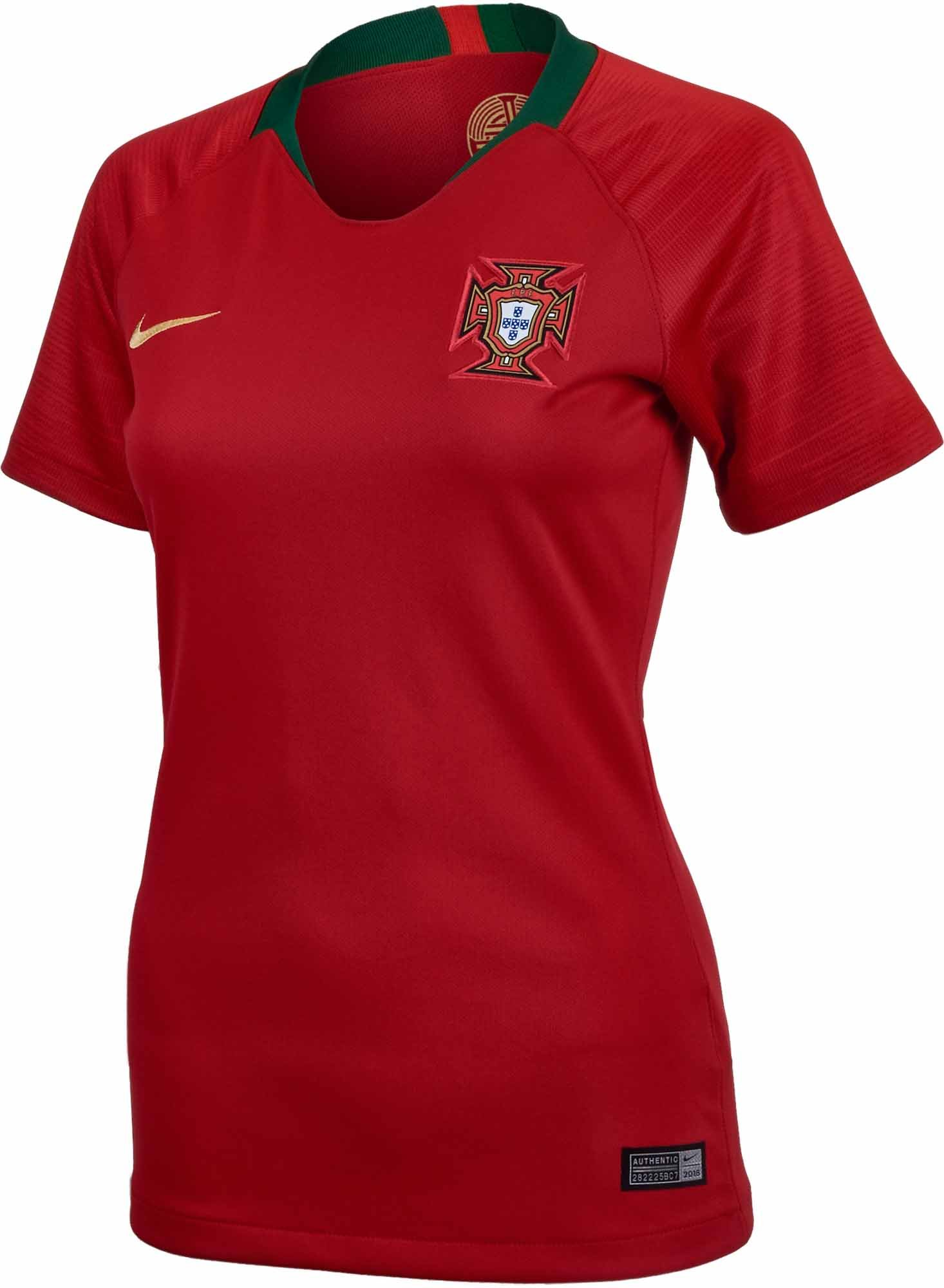 2018/19 Womens Nike Portugal Home Jersey - Soccer Master