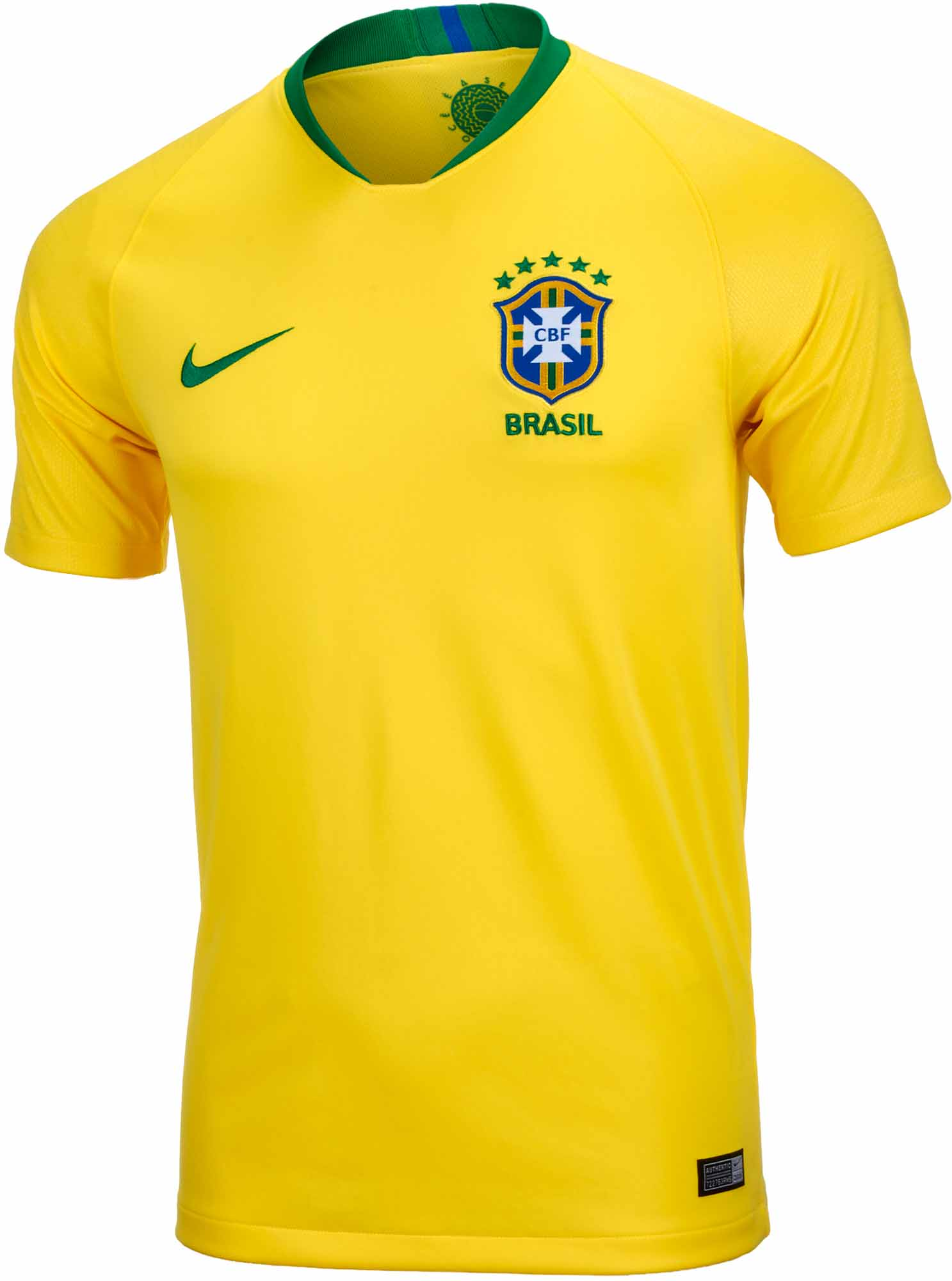 6bb6fb04d30 Nike Brazil Home Jersey - Youth 2018-19 NS - Soccer Master