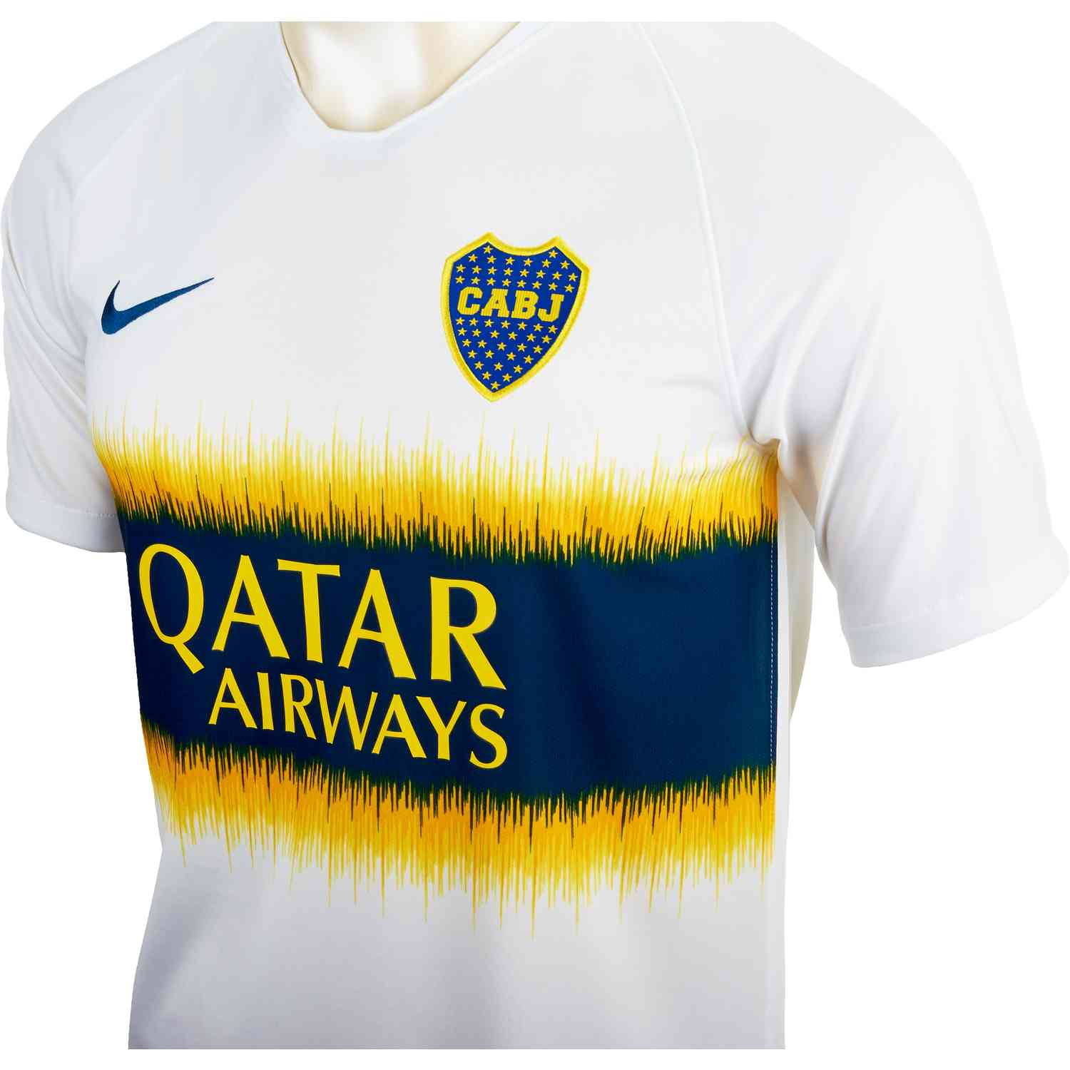 timeless design 891c8 2bfc7 Nike Boca Juniors Away Jersey - White/Brave Blue - Soccer Master