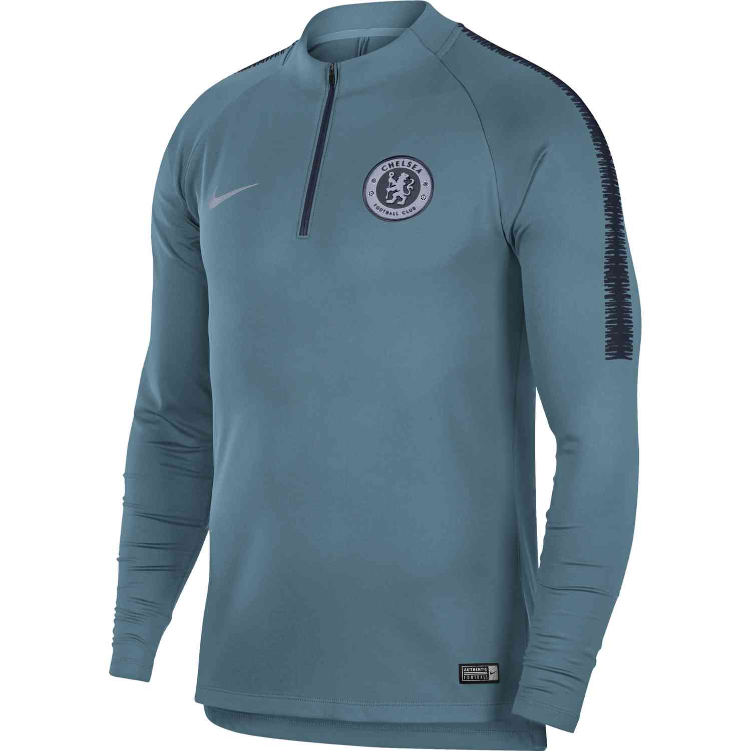 quality design b3866 8efcf Nike Chelsea Squad Drill Top - Celestial Teal/Obsidian