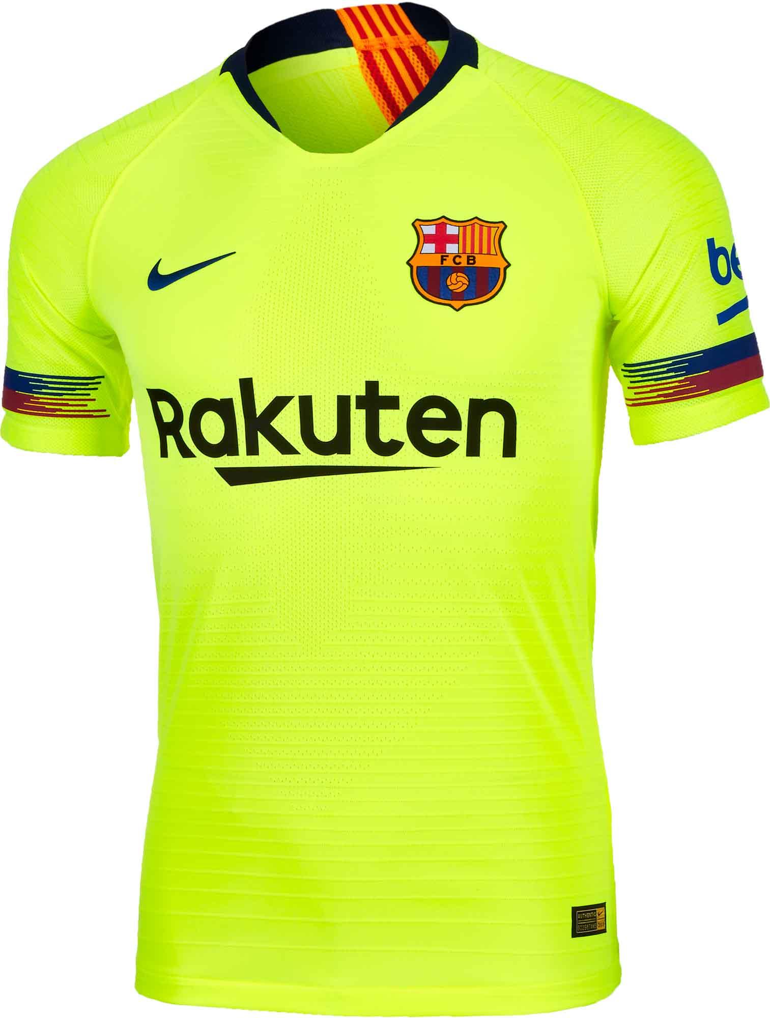 7209c0caf 2018 19 Nike Barcelona Away Match Jersey - Soccer Master