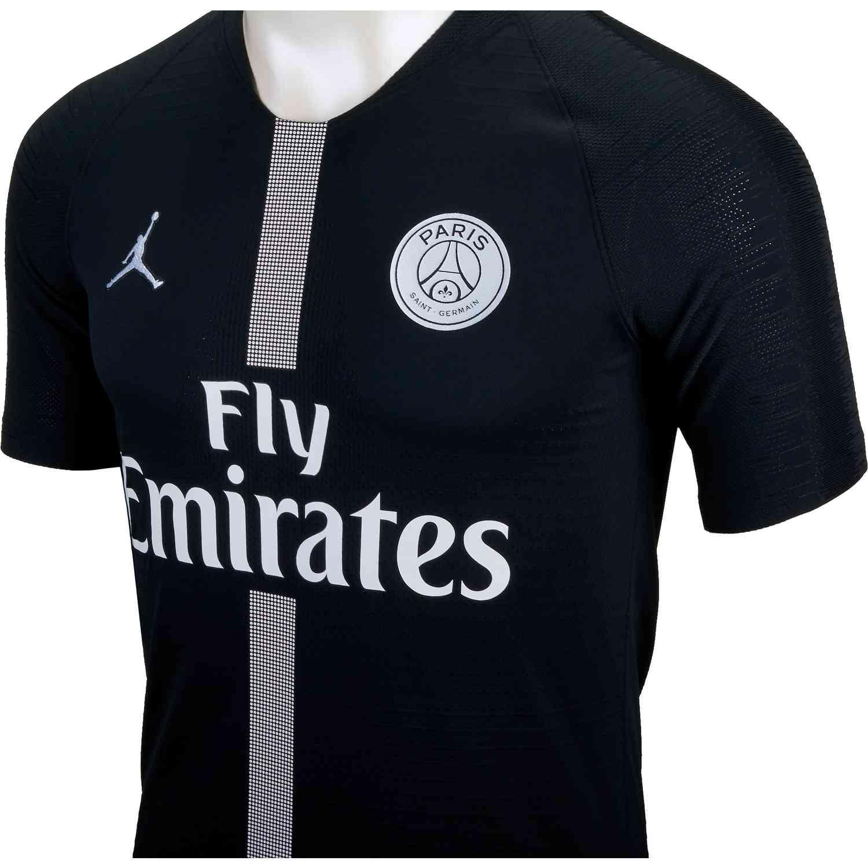 low priced 05d5e 5604f Nike PSG Match 3rd Jersey - Black/White - Soccer Master