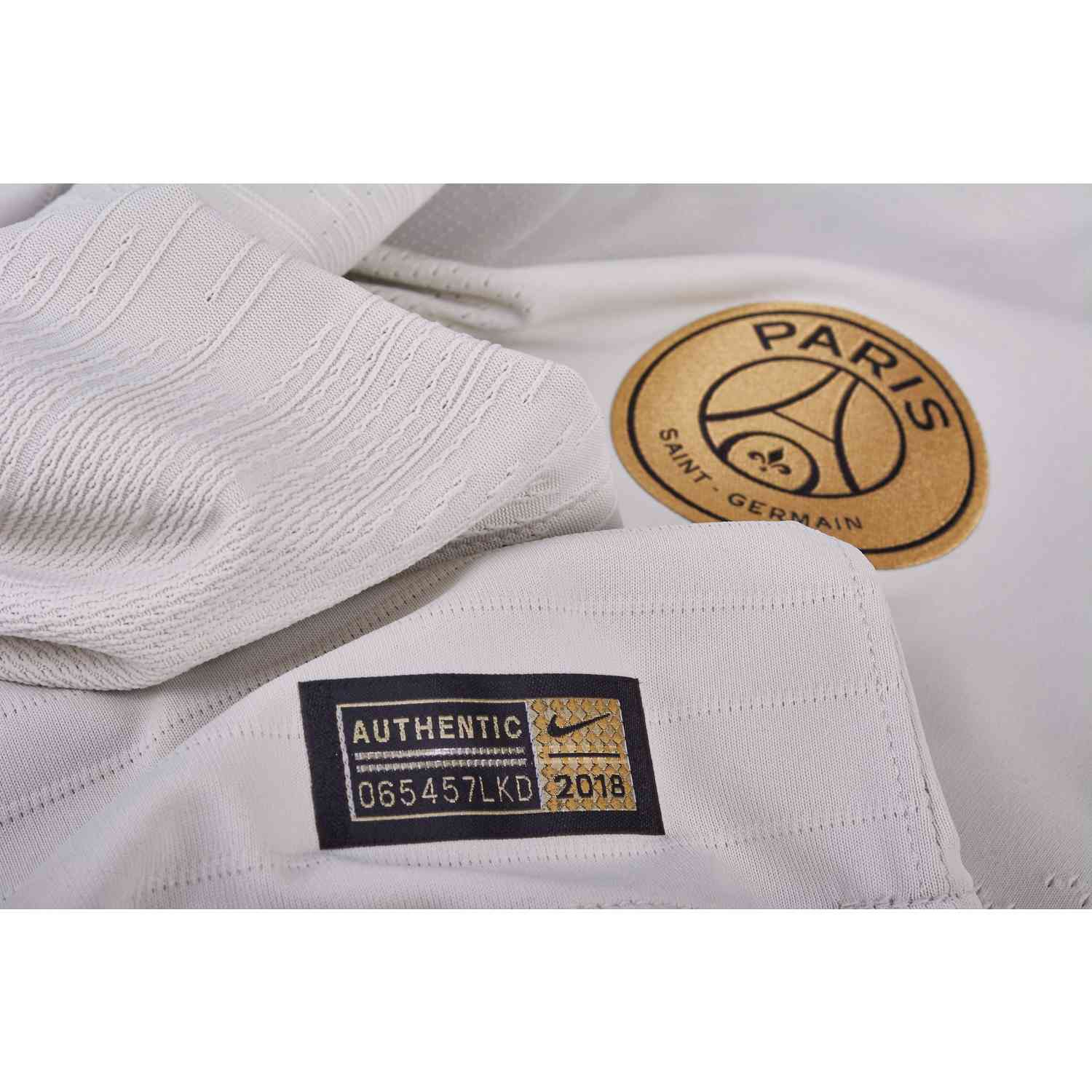 factory authentic 3853a ef45d Nike PSG Away Match Jersey - Light Bone/Truly Gold - Soccer ...