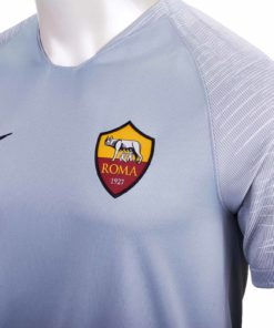 separation shoes e49d9 ef0f6 Nike Roma Away Jersey - Wolf Grey/Black - Soccer Master