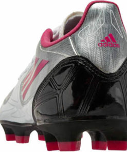 a49a1d8ef adidas Womens F10 TRX FG Soccer Cleats Silver with Pink and Black - Soccer  Master