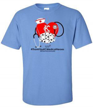 KC Medical Heroes T-Shirt
