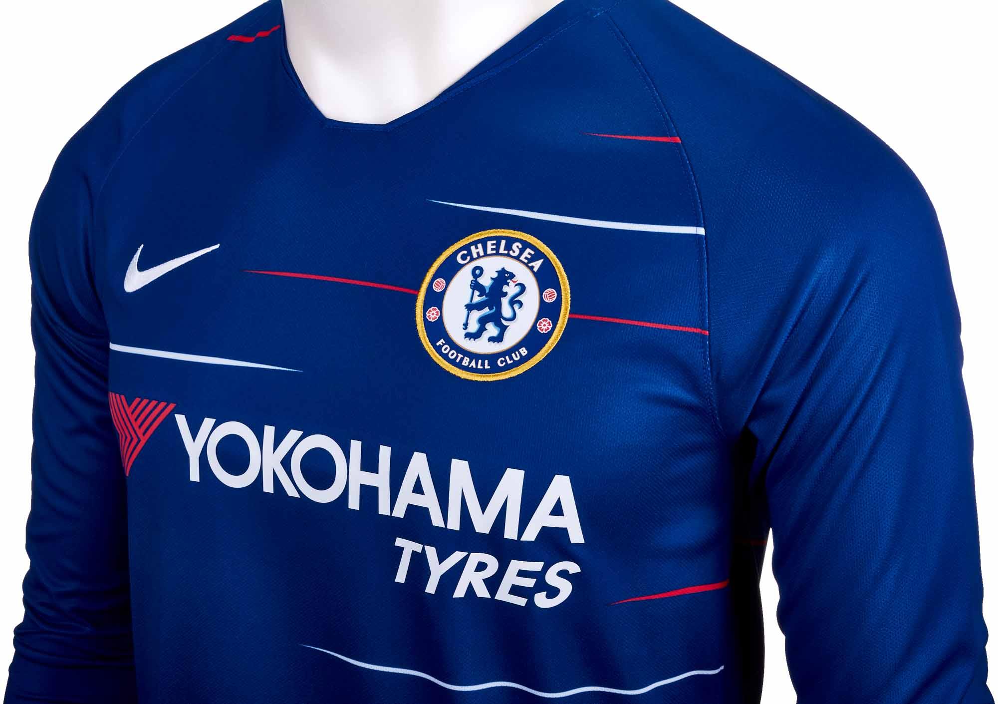 outlet store 4600e 8c5af 2018/19 Nike Chelsea Home L/S Jersey - Soccer Master