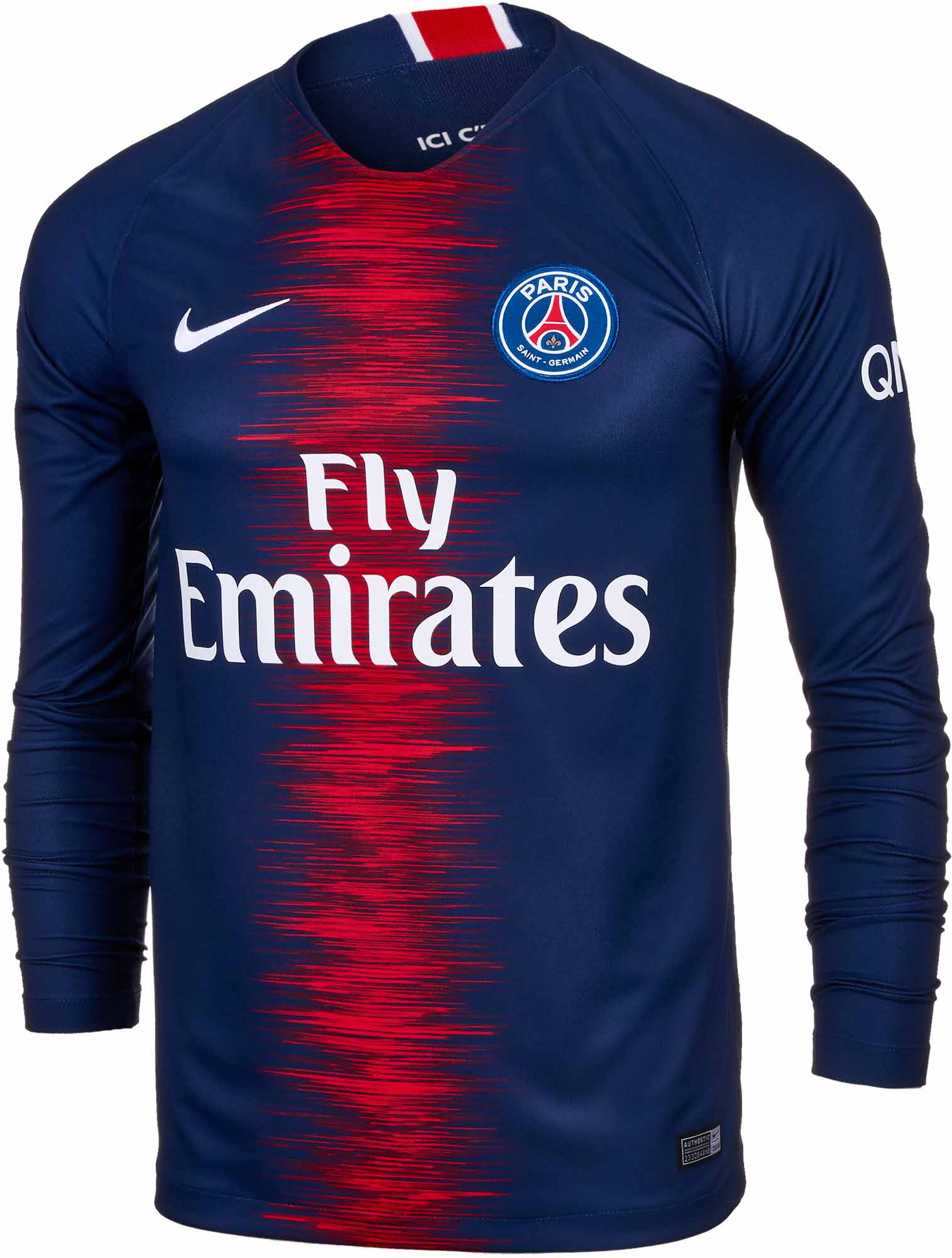 54d37e3a3 Nike PSG Home L/S Jersey - Midnight Navy/White - Soccer Master