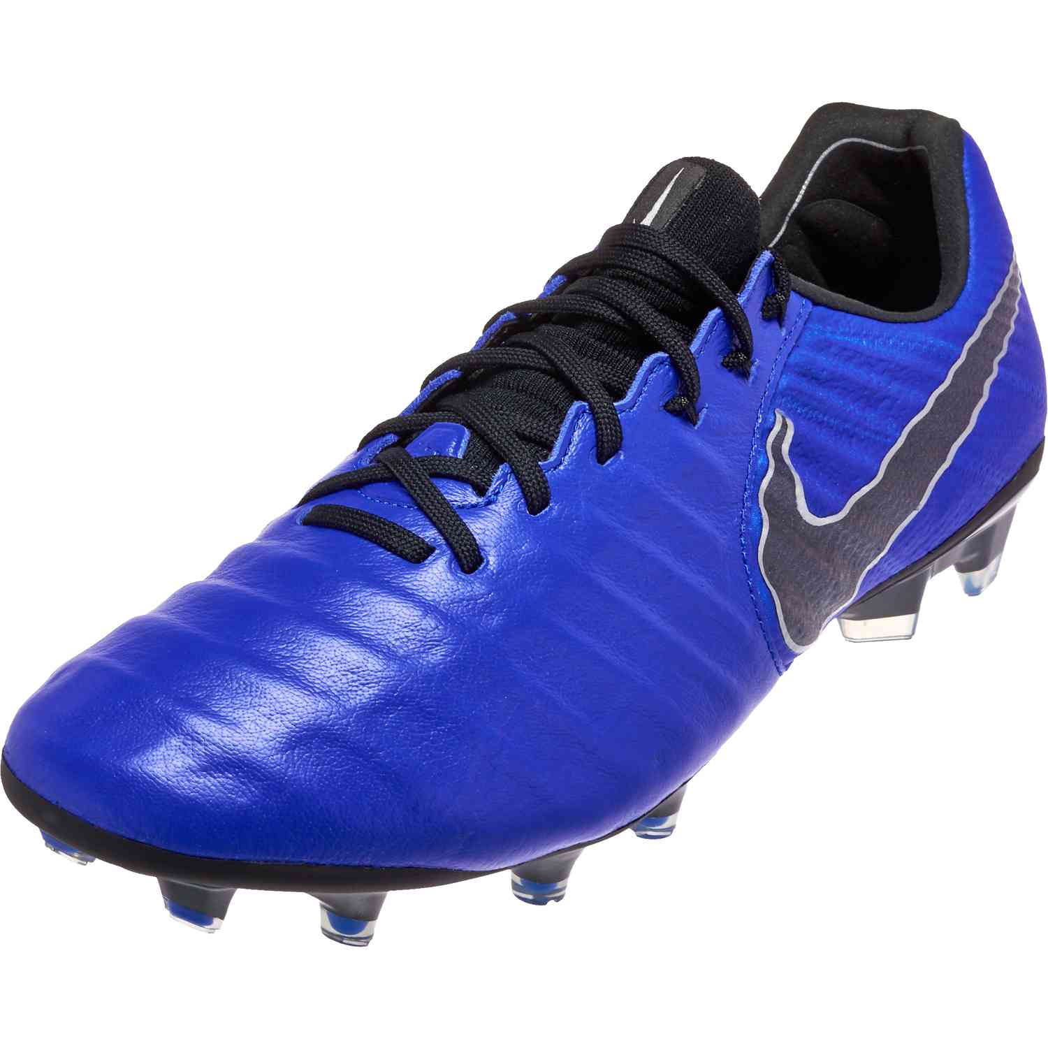 efc27508e61d0 Nike Tiempo Legend 7 Elite FG - Racer Blue Black Metallic Silver ...