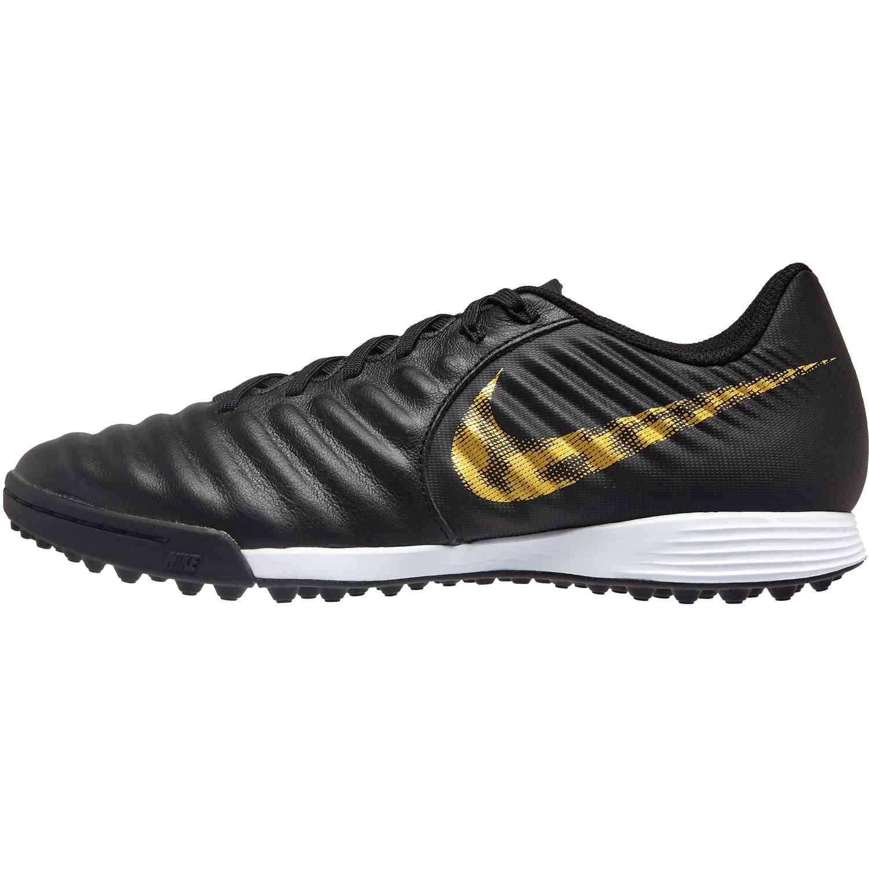 bordillo Transeúnte Miniatura  Nike Tiempo Legend 7 Academy TF - Black Lux - Soccer Master