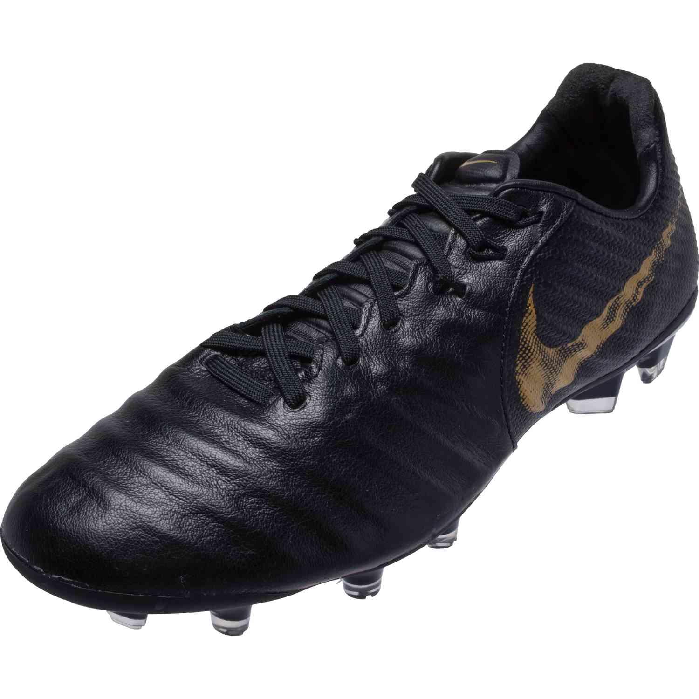 new products 22867 340ea Kids Nike Tiempo Legend 7 Elite FG - Black Lux