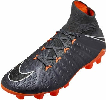 2138a4d0f9e1 Nike Kids Hypervenom Phantom 3 Elite DF FG - Dark Grey   Total ...