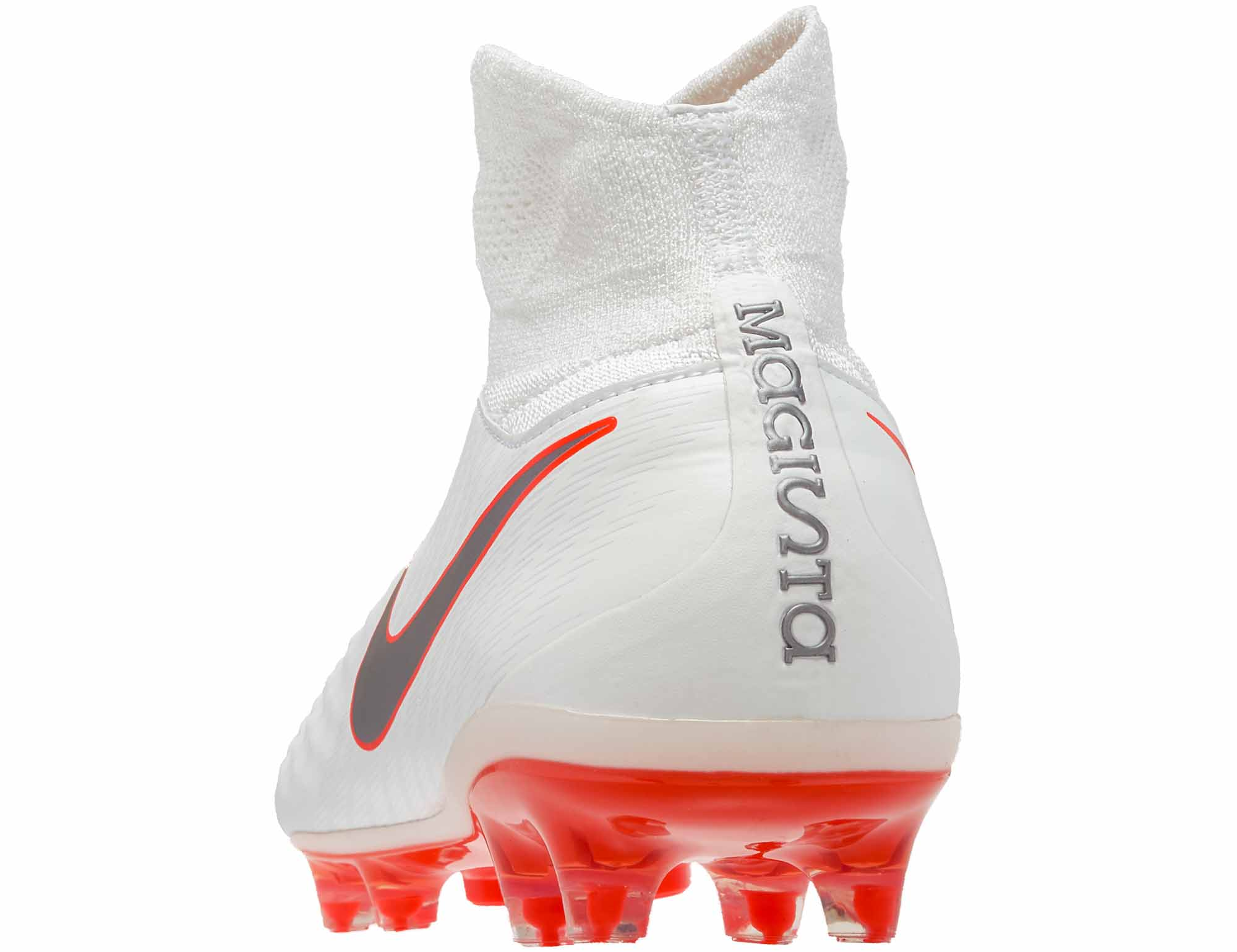 f9d3ad900e53 Nike Magista Obra II Pro DF FG - White   Metallic Cool Grey - Soccer ...