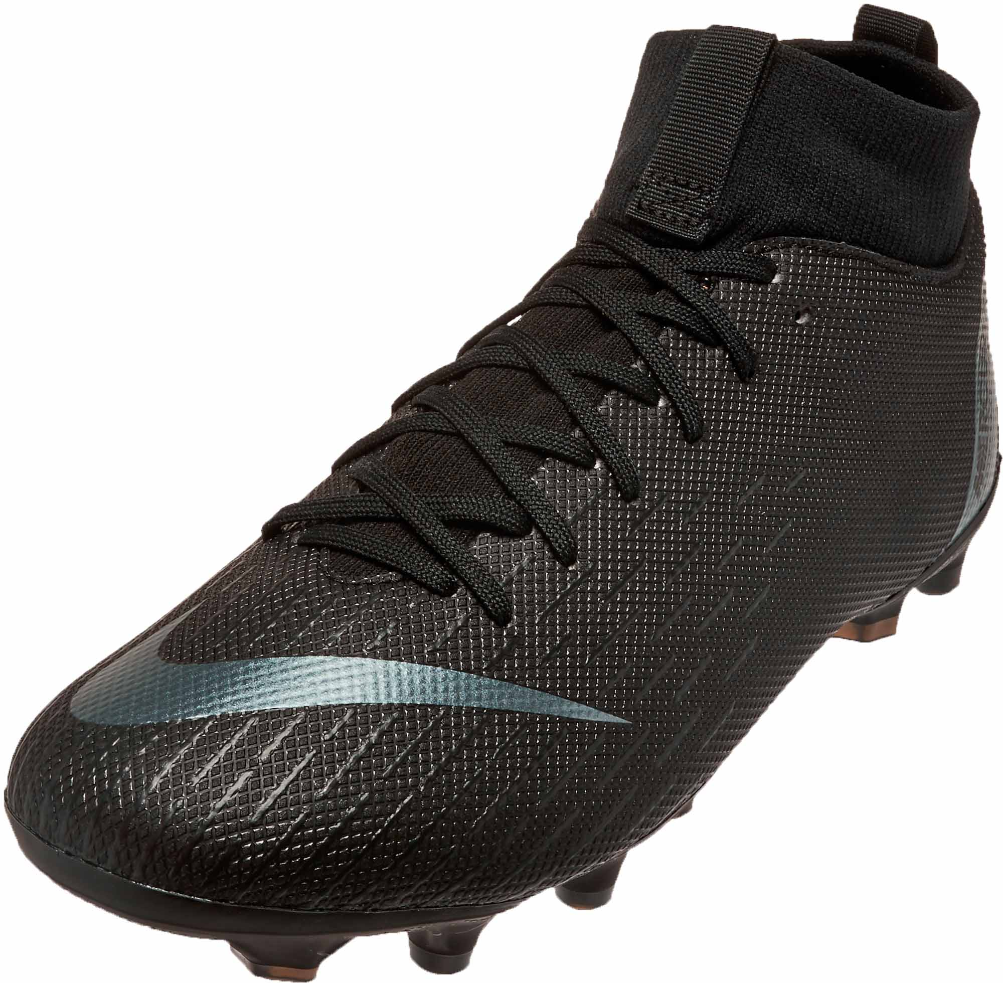 competitive price ded92 d5eac Nike Mercurial Superfly 6 Academy MG - Youth - Black/Black