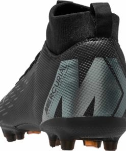 separation shoes a4f23 c8cac Nike Mercurial Superfly 6 Academy MG - Youth - Black/Black ...