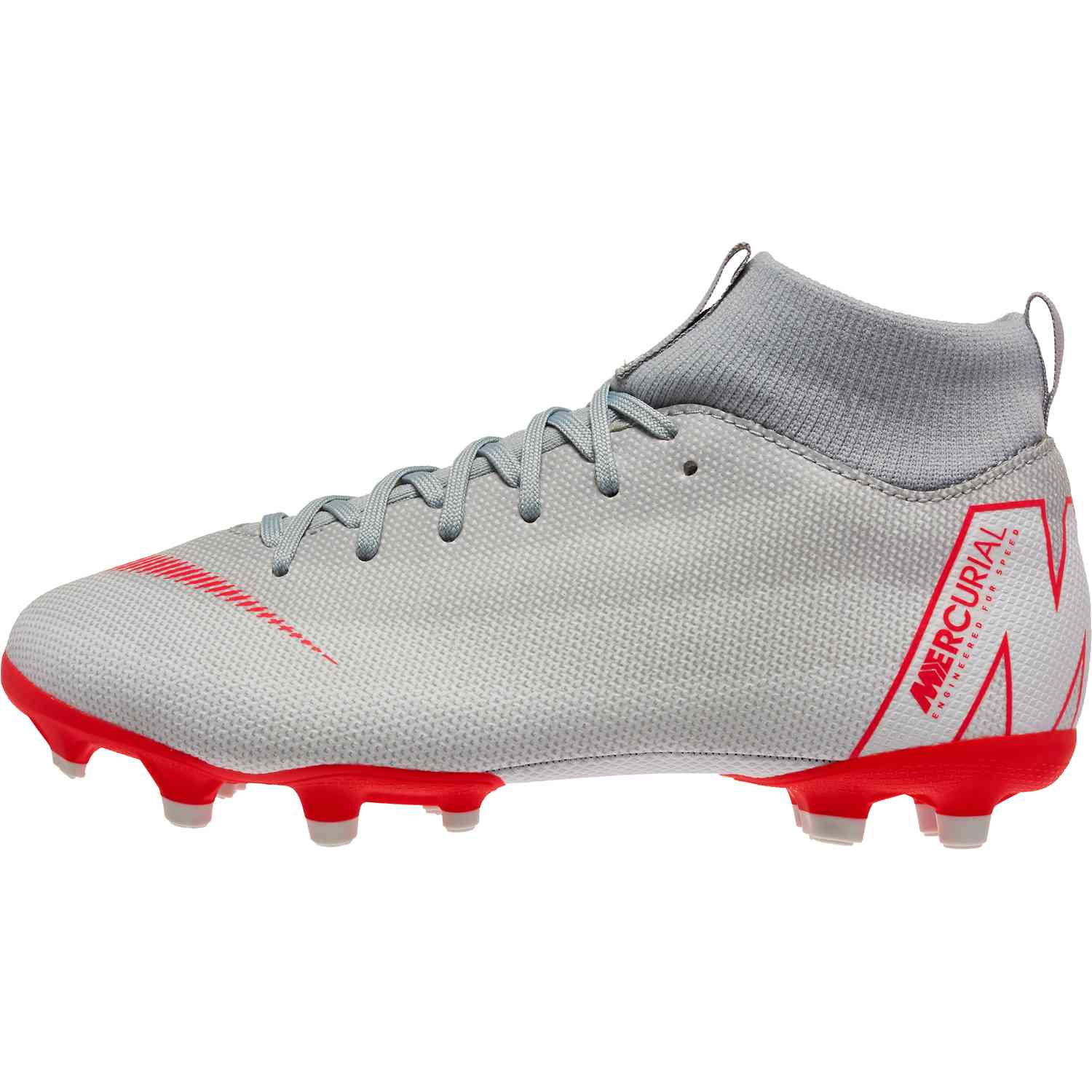 timeless design 116a4 95bc4 Kids Nike Mercurial Superfly 6 Academy MG - Wolf Grey/Light Crimson/Pure  Platinum - Soccer Master
