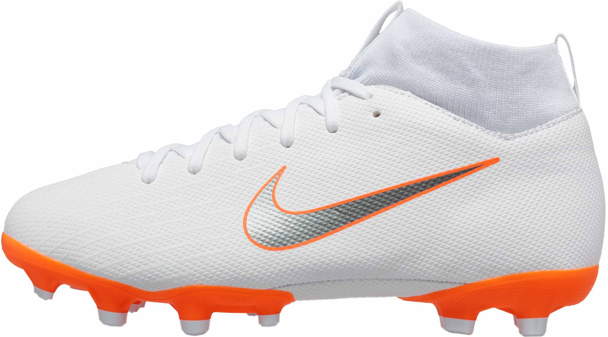 112fa015a Nike Mercurial Superfly 6 Academy MG - Youth - White Metallic Cool ...