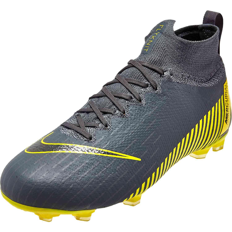d5314f15d15 Kids Nike Mercurial Superfly 6 Elite FG - Dark Grey - Soccer Master