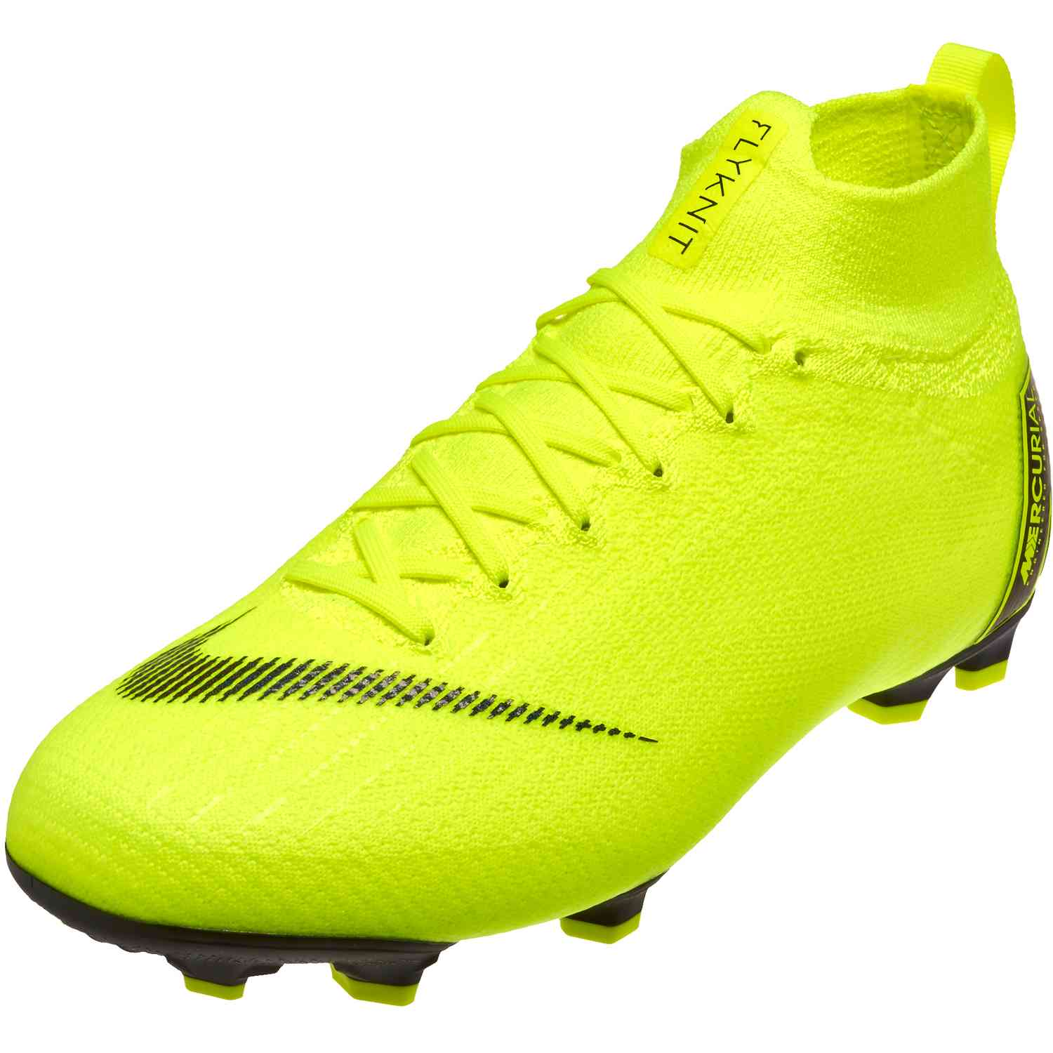 32d78999d Kids Nike Mercurial Superfly 6 Elite FG - Volt Black - Soccer Master
