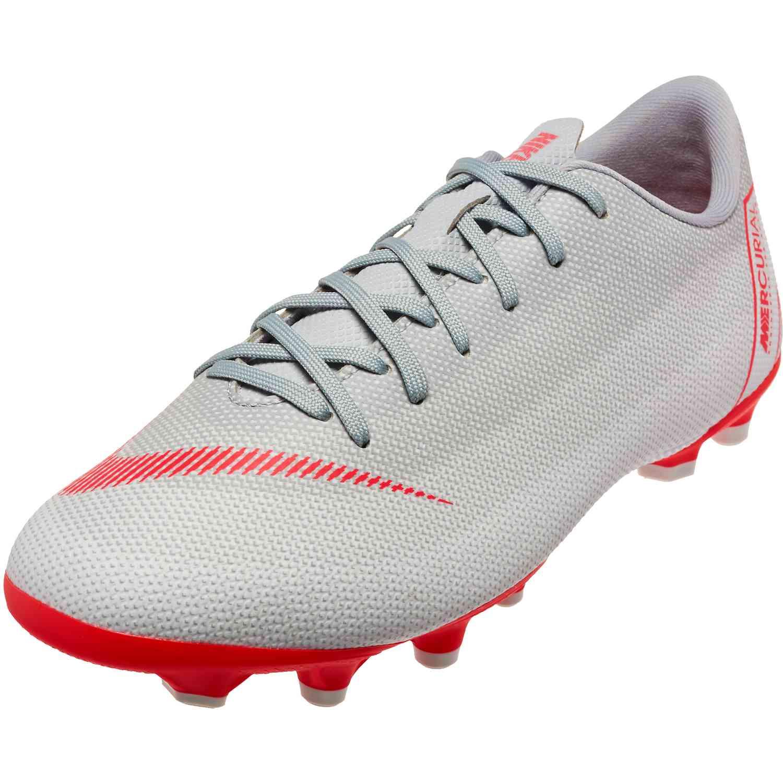 Nike Mercurial Vapor 12 Academy MG – Youth – Wolf Grey Light Crimson Pure  Platinum 14ca5533d4c4