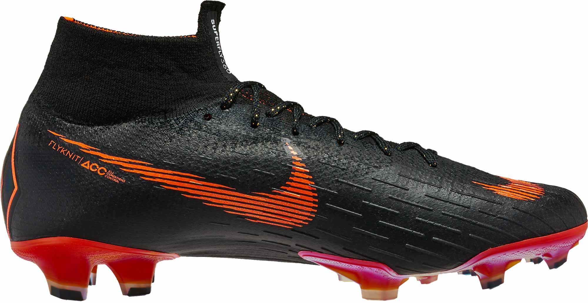 online retailer 9a9b6 6f400 Nike Superfly 6 Elite FG - Black & Total Orange - Soccer Master