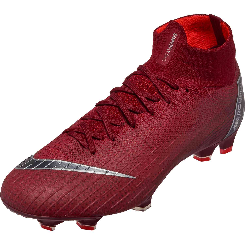9dccb74d4b89 Nike Superfly 6 Elite FG – Team Red Metallic Dark Grey Bright Crimson