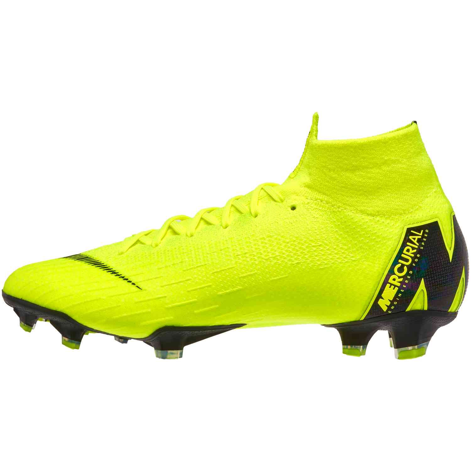 db4807f6181 Nike Mercurial Superfly 6 Elite FG - Volt/Black - Soccer Master