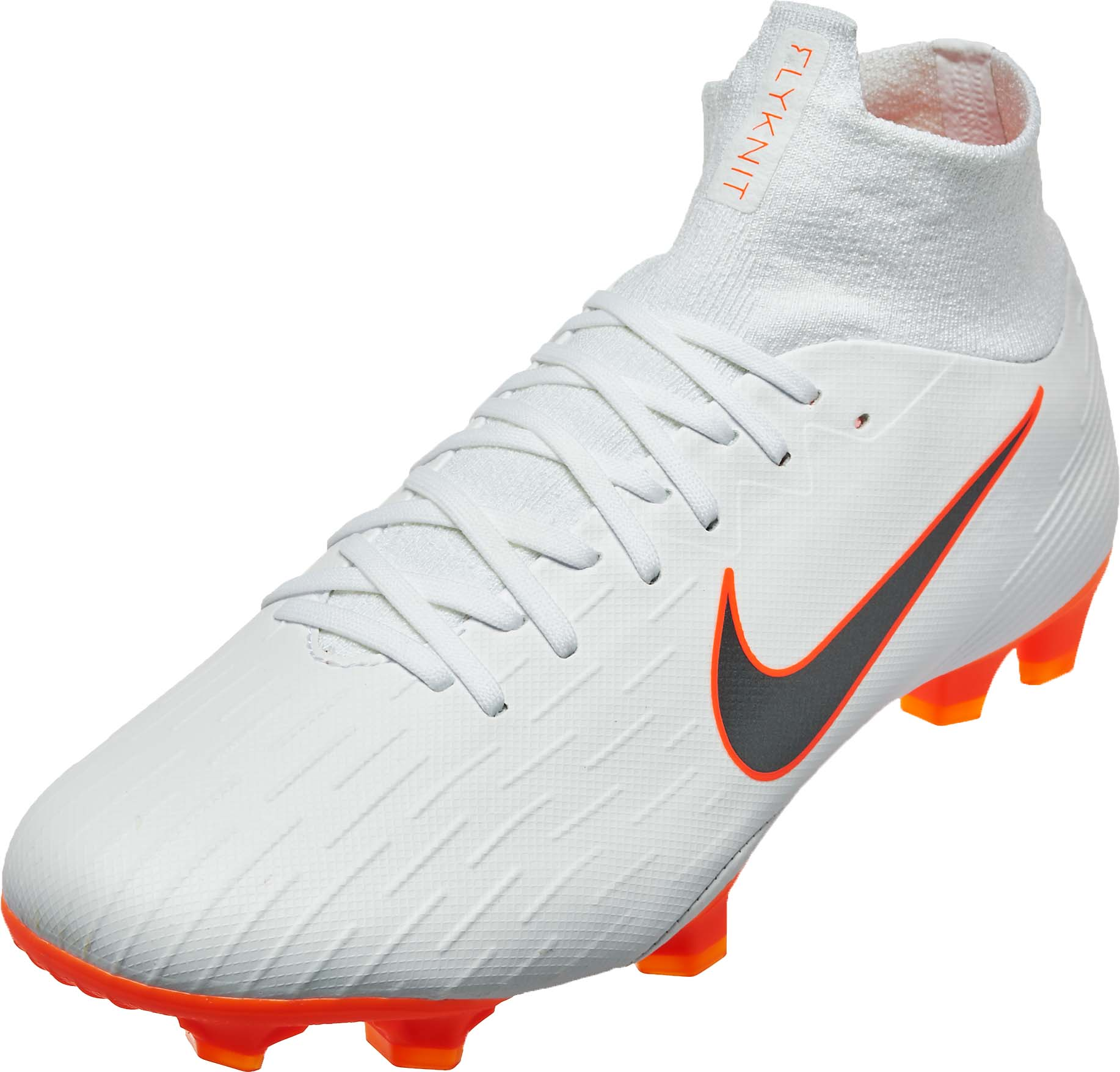 buy popular f817d d6422 Nike Mercurial Superfly 6 Pro FG – White  Metallic Cool Grey
