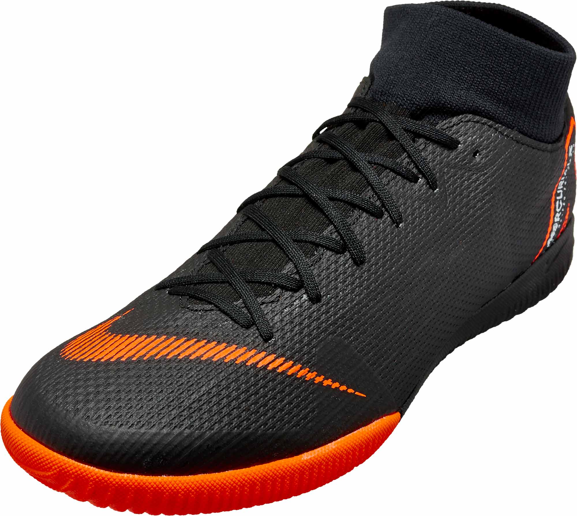 mejor sitio web 93b44 5fd66 Nike SuperflyX 6 Academy IC - Black & Total Orange
