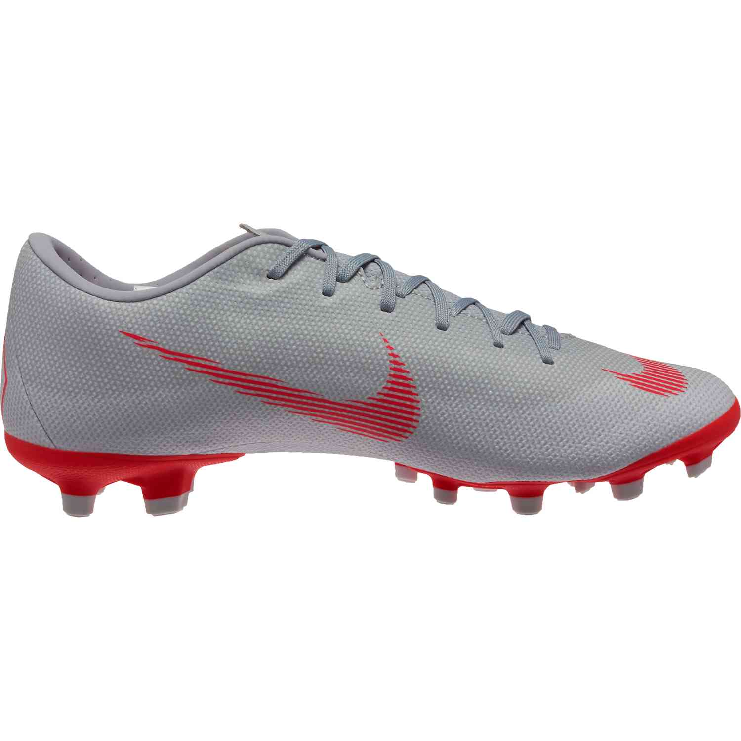 0ec3584147c Nike Vapor 12 Academy MG - Wolf Grey Bright Crimson Pure Platinum ...