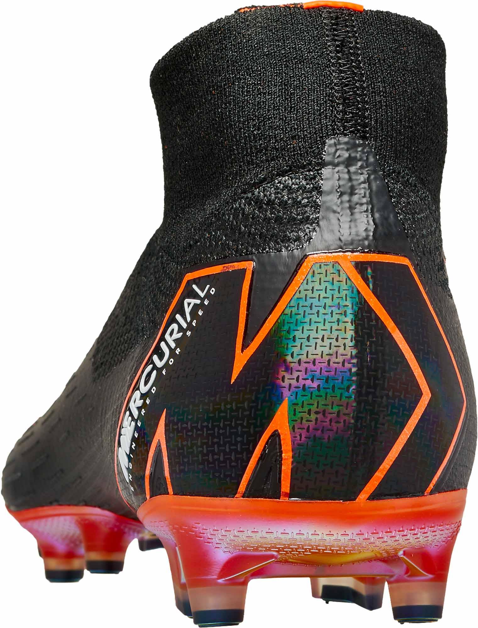 f7739191e4ba Nike Superfly 6 Elite AG-Pro - Black   Total Orange - Soccer Master