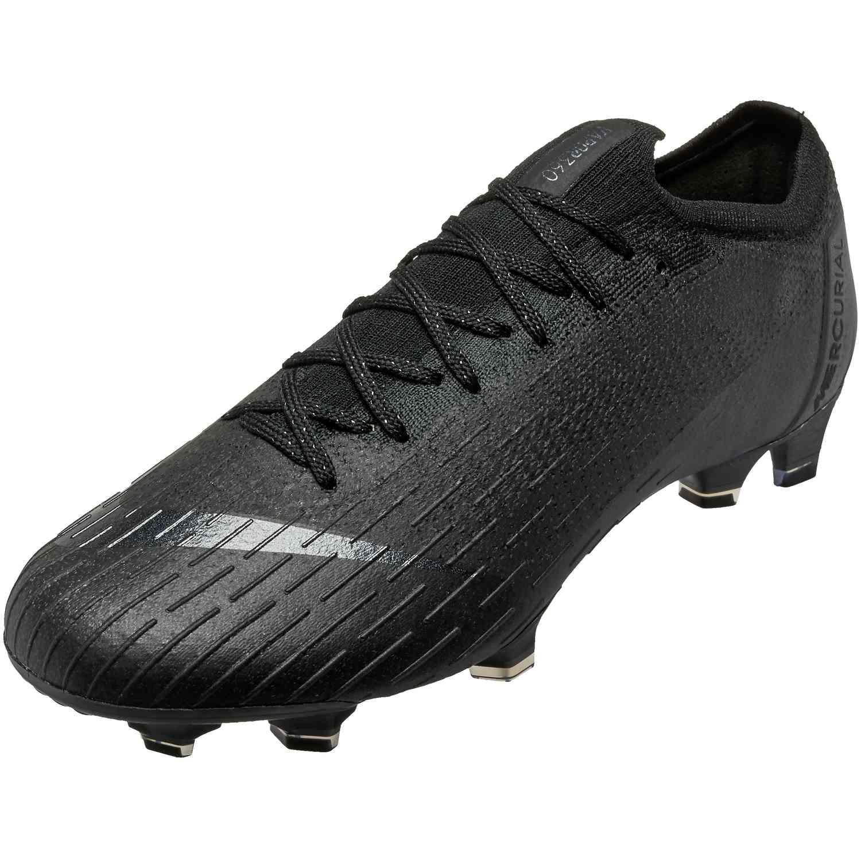 9dc762444 Nike Vapor 12 Elite FG - Black/Black - Soccer Master