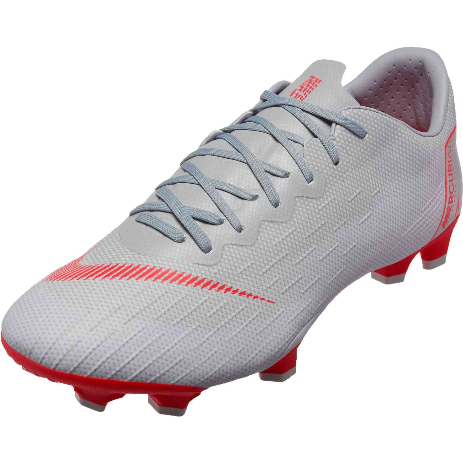 3cb964fd276 Nike Vapor 12 Pro FG - Wolf Grey Light Crimson Pure Platinum ...