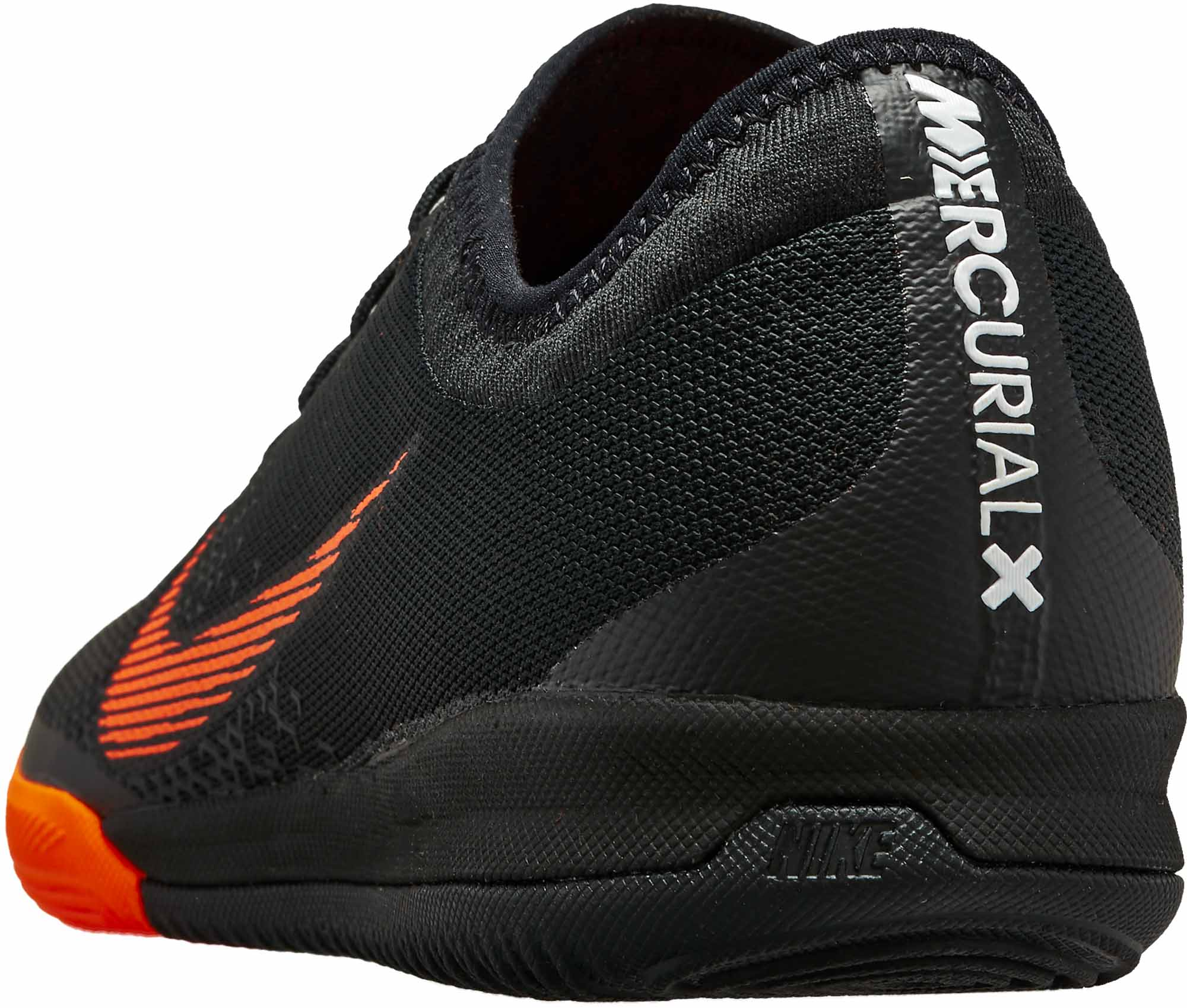 more photos 64d94 e8ff6 Nike VaporX 12 Pro IC - Black & Total Orange - Soccer Master