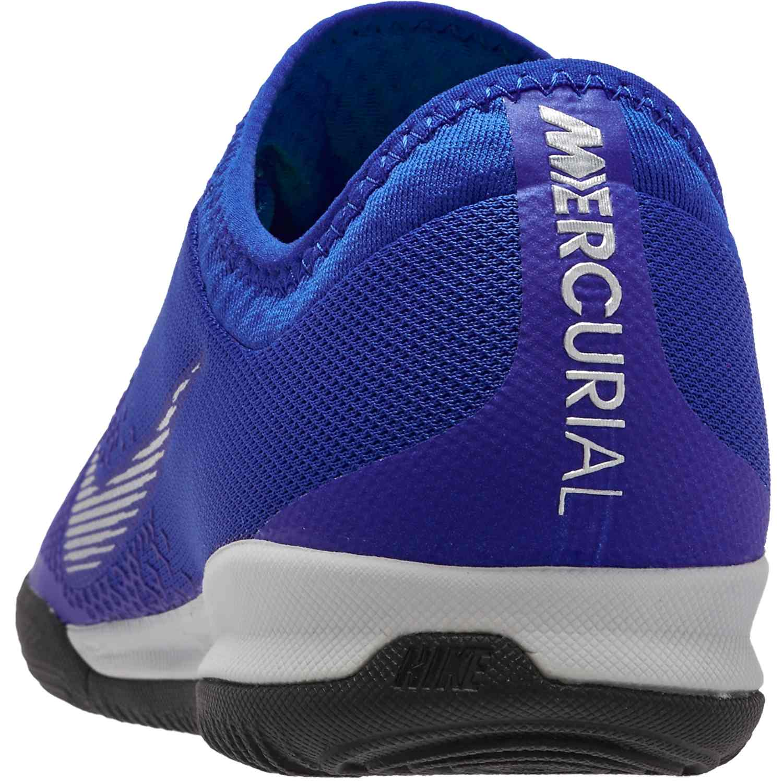 d457c6afe Nike Mercurial VaporX 12 Pro IC - Racer Blue Metallic Silver Black ...