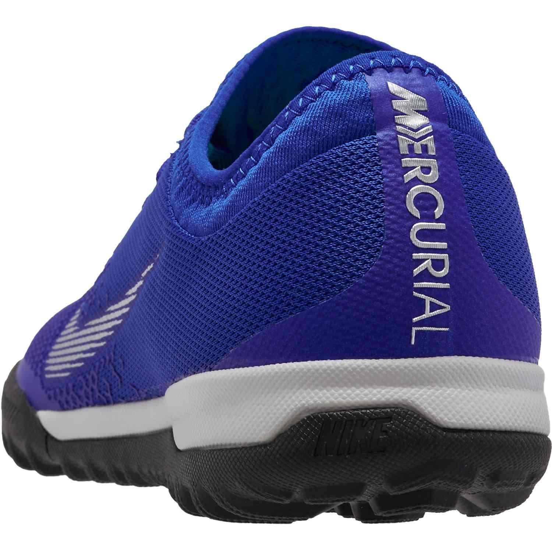 782e2d09d0e Nike Mercurial VaporX 12 Pro TF - Racer Blue Metallic Silver Black ...