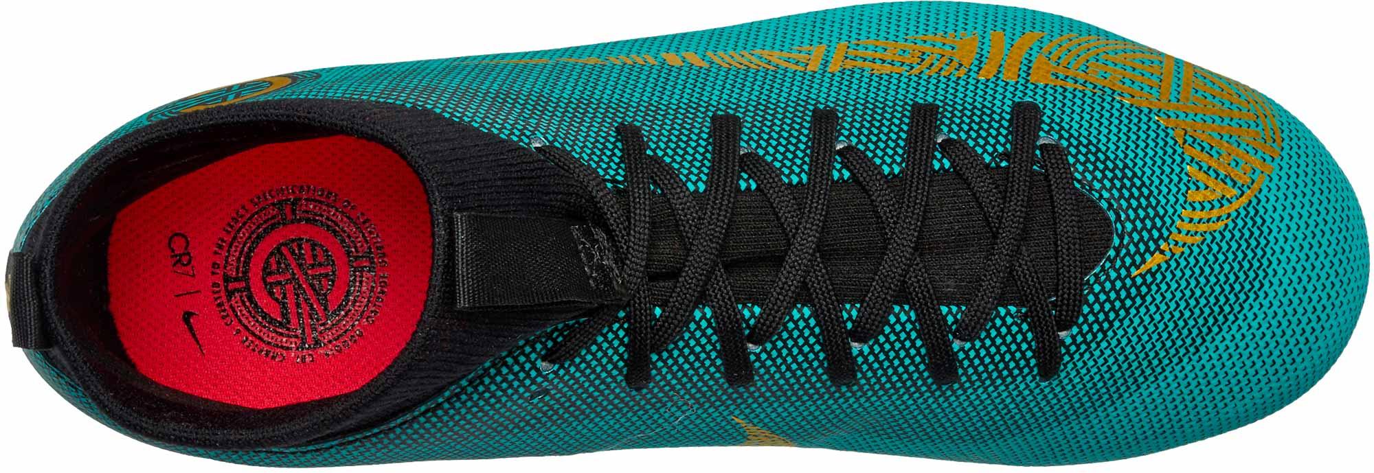 3649d43d5 Nike Mercurial Superfly 6 Academy MG - CR7 - Youth - Clear Jade ...