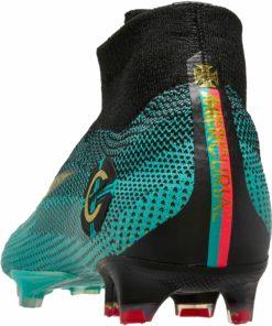48761a874fa Nike Mercurial Superfly 6 Elite FG - CR7 - Clear Jade   Metallic Vivid Gold  - Soccer Master