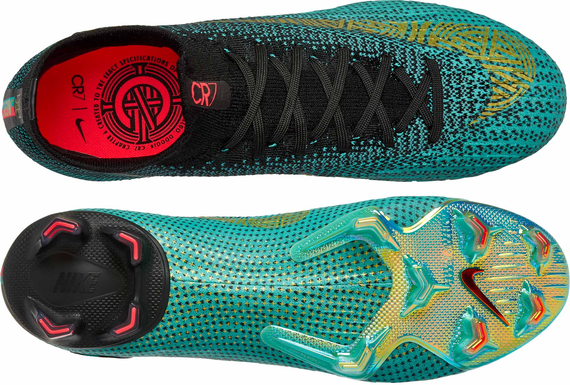 finest selection 1bd44 eccae Nike Mercurial Superfly 6 Elite FG - CR7 - Clear Jade ...