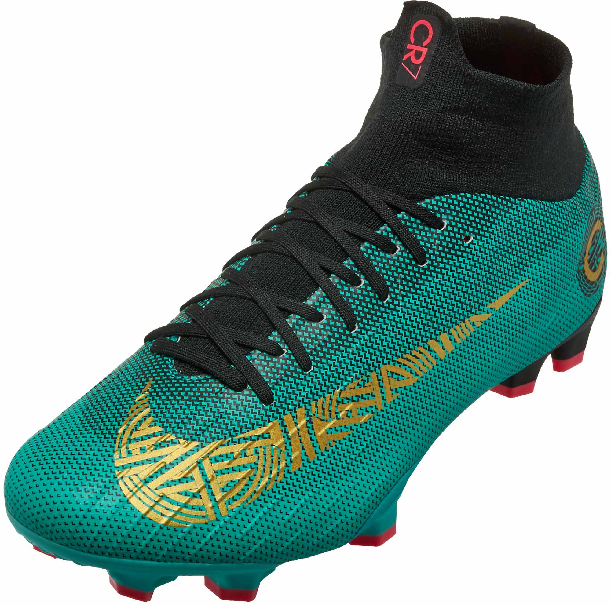 Nike Mercurial Superfly 6 Pro FG – CR7 – Clear Jade   Metallic Vivid Gold 8ca26c9212ec