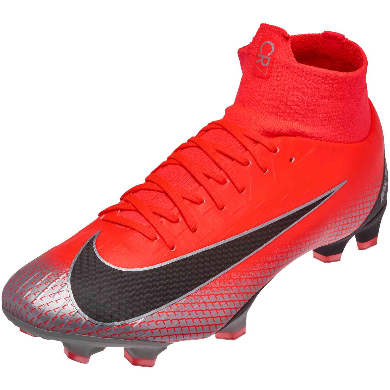 25cfa97c55c3 Nike Mercurial Superfly 6 Pro FG – CR7 – Bright Crimson/Black/Chrome/Dark  Grey