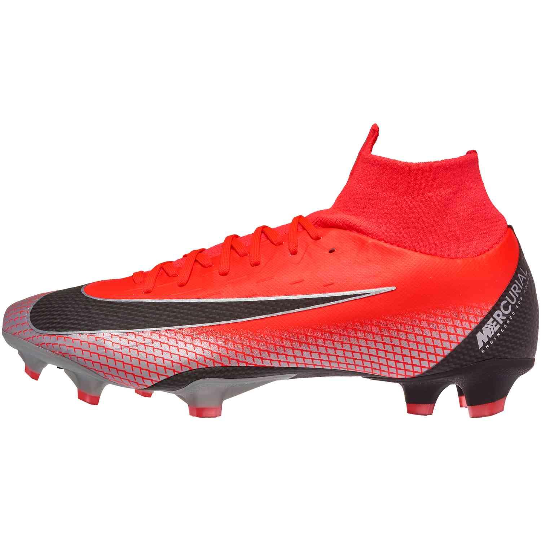 121a7be58 Nike Mercurial Superfly 6 Pro FG - CR7 - Bright Crimson/Black/Chrome ...