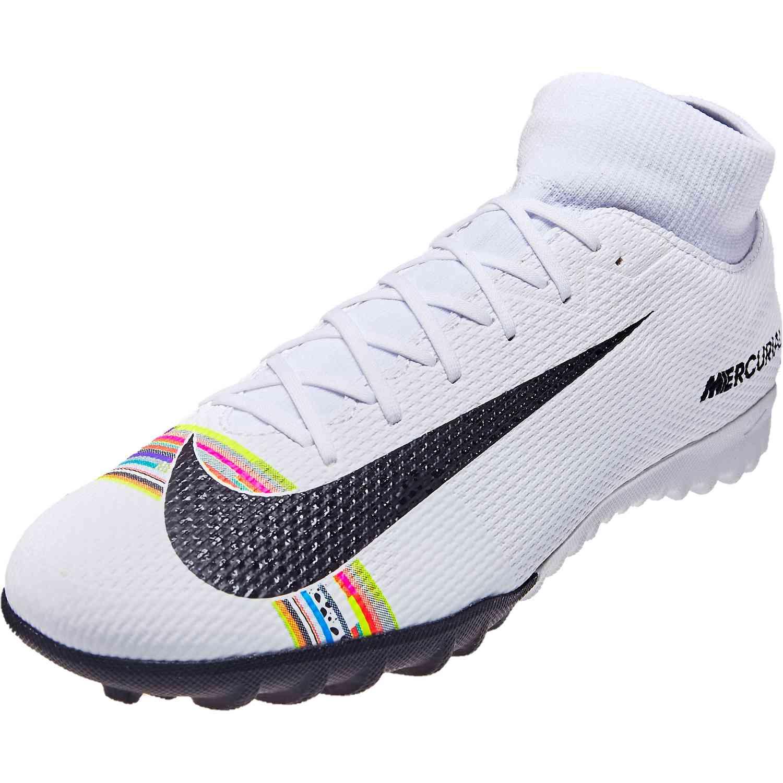 save off e237b ec1e7 Nike CR7 Mercurial Superfly 6 Academy TF - Pure Platinum