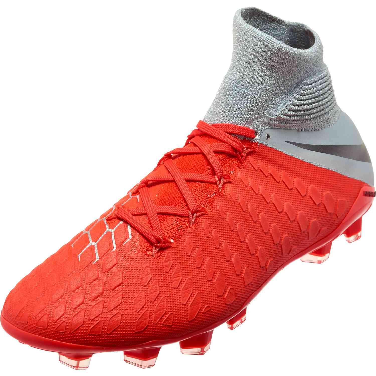 ec247b4d1785 Nike Hypervenom Phantom 3 Elite DF FG – Youth – Light Crimson/Metallic Dark  Grey/Wolf Grey