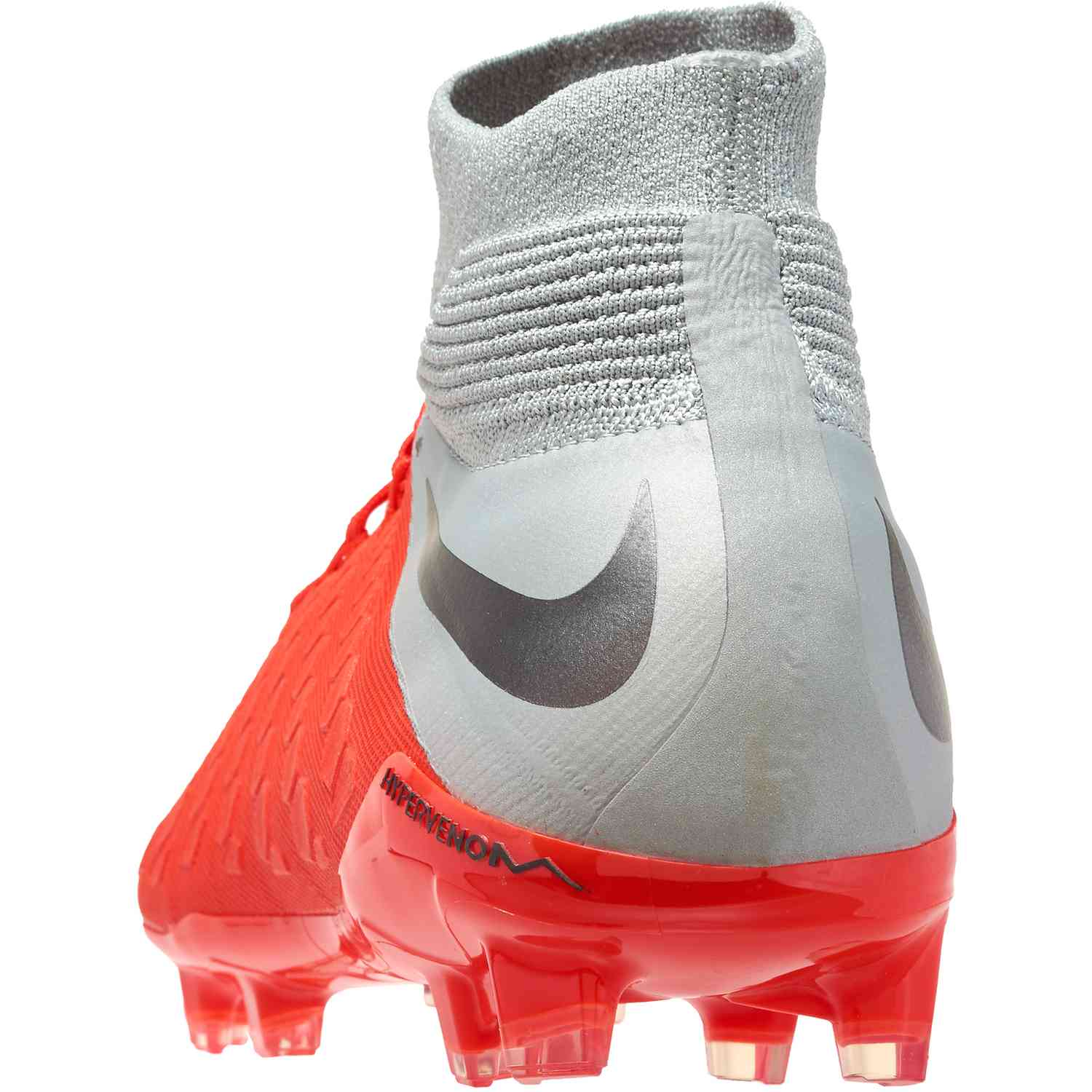 newest da9b8 6729b Nike Hypervenom Phantom 3 Elite DF FG - Youth - Light Crimson/Metallic Dark  Grey/Wolf Grey - Soccer Master