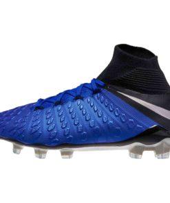 d222f6d586fc Nike Hypervenom 3 Elite DF FG - Racer Blue/Metallic Silver/Black ...