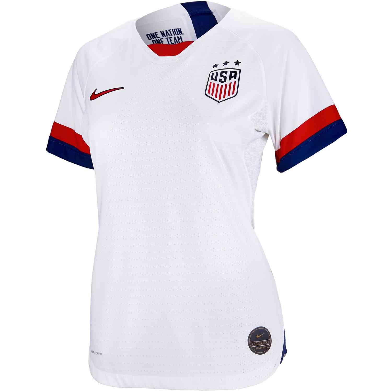 233907ca774 2019 Womens Nike USWNT Home Match Jersey - Soccer Master